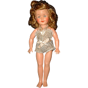 Vintage 1950's Ideal Vinyl Shirley Temple Doll