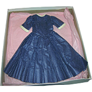 Vintage 1950's Alexander HTF Boxed Tagged Cissy Dress!