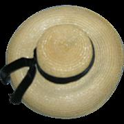 Vintage 1950s Alexander Elise Straw Hat