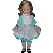 Madame Alexander 1960's Alice in Wonderful Doll in Original Tagged Outfit!