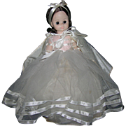 Madame Alexander 1960's Snow White Doll in Original Tagged Outfit!