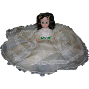Madame Alexander 1960's Scarlett O'Hara Doll in Original Tagged Outfit!