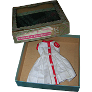 Vintage 1950's Boxed Alexander Tagged Cissette Dress!