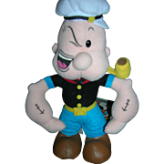 All Cloth Popeye Doll with original tag