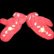 Vintage Doll Mittens