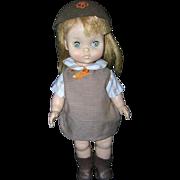 """Vintage Effanbee 11"""" Brownie Doll all original"""