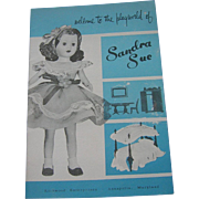 Rare Large Size Vintage Original Sandra Sue Booklet!