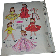 "McCall's Vintage Betsy McCall Doll Pattern for 8"" Dolls"