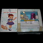 1950's Vintage My Merry Toy Diaper Closet Set
