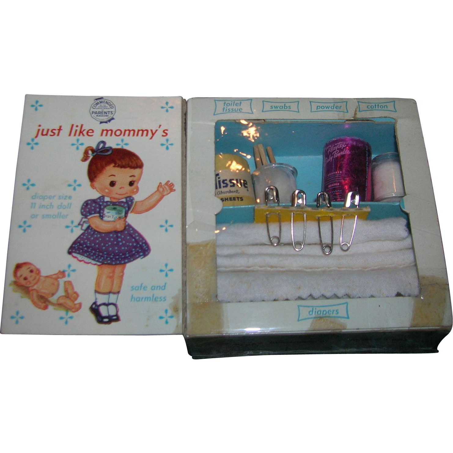 1950 39 s vintage my merry toy diaper closet set from for My retro closet