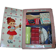 1950's Vintage My Merry Toy Dolly Party Closet Set