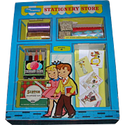 1950's Vintage My Merry Toy Stationery Store Set