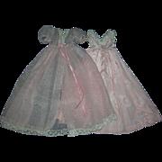 Vintage 1956 Tagged Alexander Cissy Robe & Night Gown Set