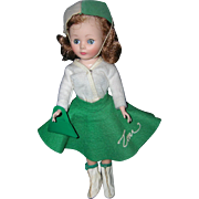 "Vintage 1958 American Character 10 1/2"" Toni Doll"