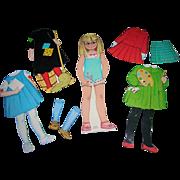 "Vintage 1964 Mattel Paper Doll ""Charmin"" Chatty """