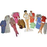 "Vintage 1960's Paper Doll ""Jackie Kennedy """