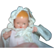 Vintage Nancy Ann Storybook Doll Bisque Baby all original