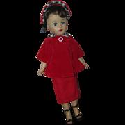 "Vintage 1950's 10 1/2"" Fashion Doll"