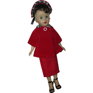 "Vintage 1950's 10 1/2"" Fashion Doll"