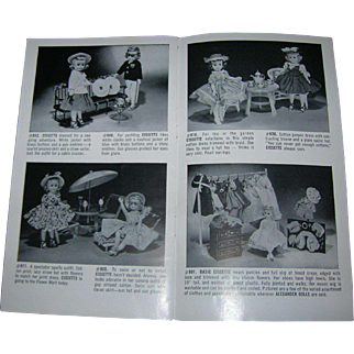 "Vintage Original Madame Alexander ""Dolls Are Little People"" Booklet"