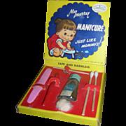 1950's Vintage My Merry Manicure Set