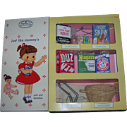 1950's Vintage My Merry Dolly's Cleaning Closet Set