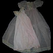 Vintage 1950's Alexander Tagged Cissy Robe & Nightgown Set