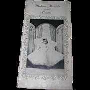 """Vintage Original Madame Alexander """"Cissette"""" Booklet"""