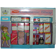 1960's Vintage My Merry Cosmetic Shop Set containing Coty Products