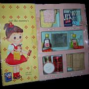 1958 Vintage My Merry Dolly's Toy Bath Closet Set