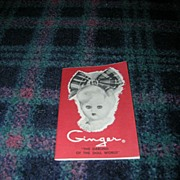"Vintage Original Cosmopolitan ""Ginger The Darling of the Doll World"" Booklet"