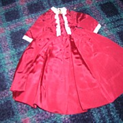 "Vintage Alexander Tagged ""Marme"" Doll Dress"