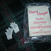 Vintage HTF 1950's Pair of Mary Hoyer Gloves with the Original Package!