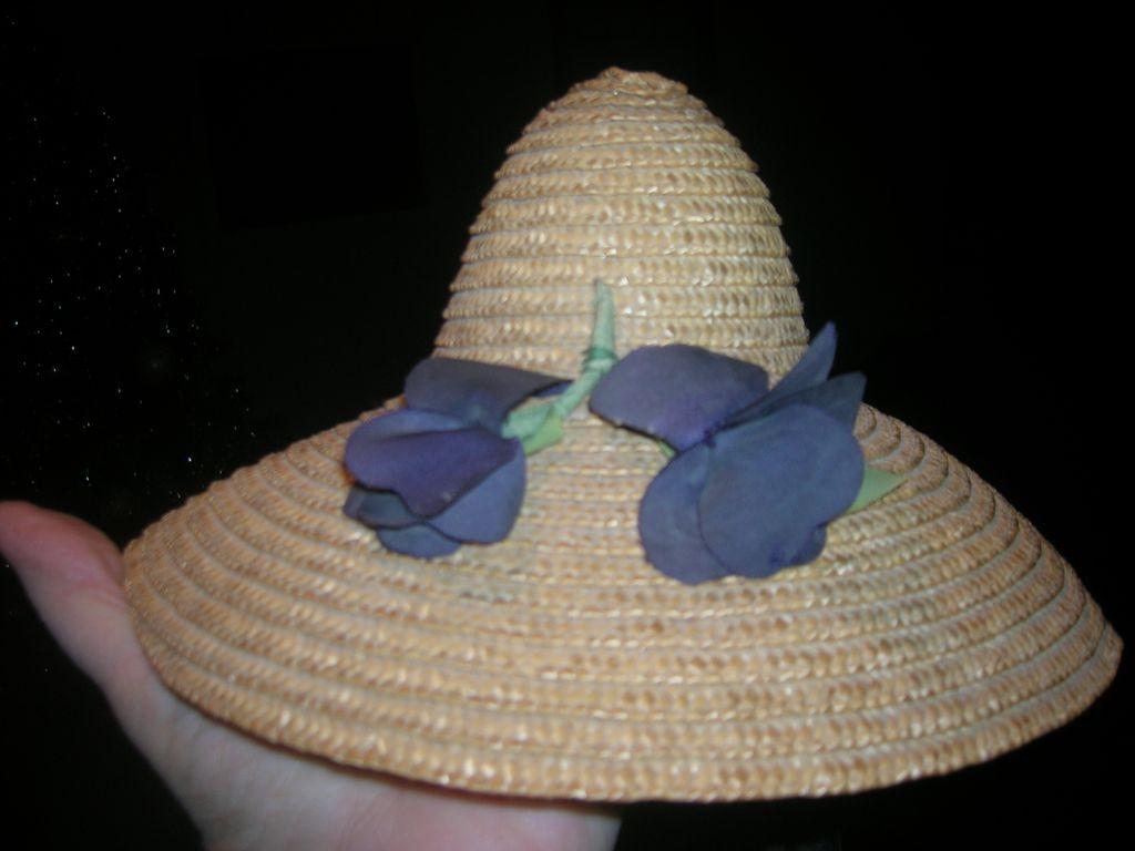 Vintage Straw Hat 108