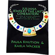 "Jewelry Collector's Book ""Juliana Jewelry The Last Generation"" by Paula Knutson and Karla Wacker, Authors"