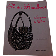 Plastic Handbags Sculpture to Wear by Kate Dooner