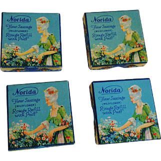 Vintage Norida Compact Refills