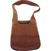 Vintage Bonnie Cashin Tan Leather Purse for Meyers