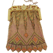 Vintage Egyptian Mesh Purse