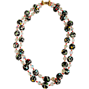 Vintage Beaded Necklace by Vendome