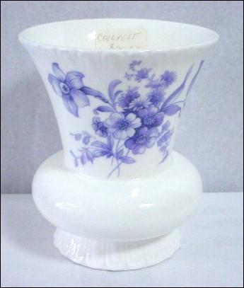 Coalport Divinity Blue Vase