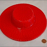 Red Hat Wallpocket California Pottery Walter Wilson