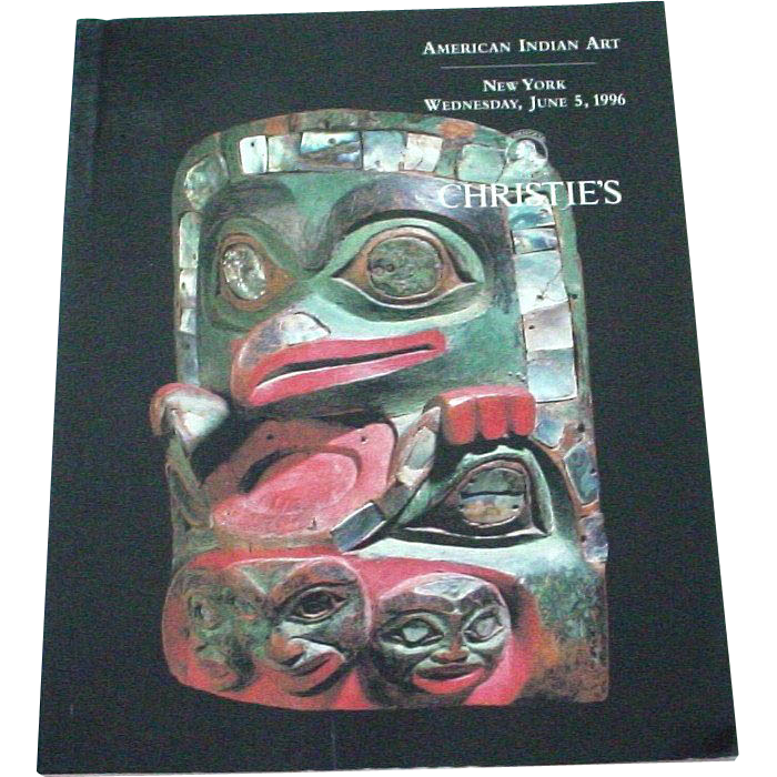 Christie's Auction Catalog American Indian Art June 1996 NYC