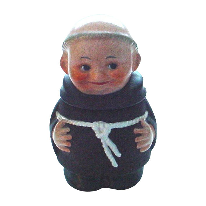 Goebel Friar Tuck Covered Sugar Bowl