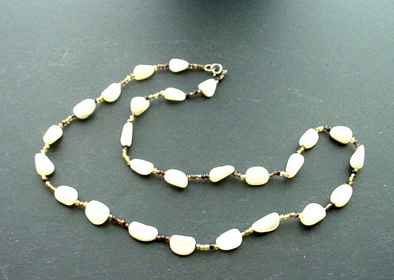 Mother of Pearl Beaded Necklace