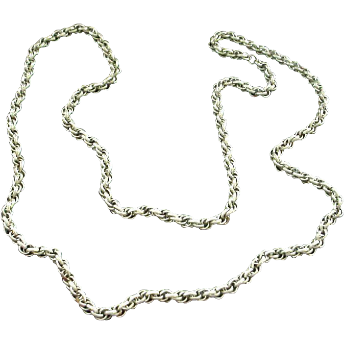 "Heavy Metal Chain - 36"" - Interesting Links"