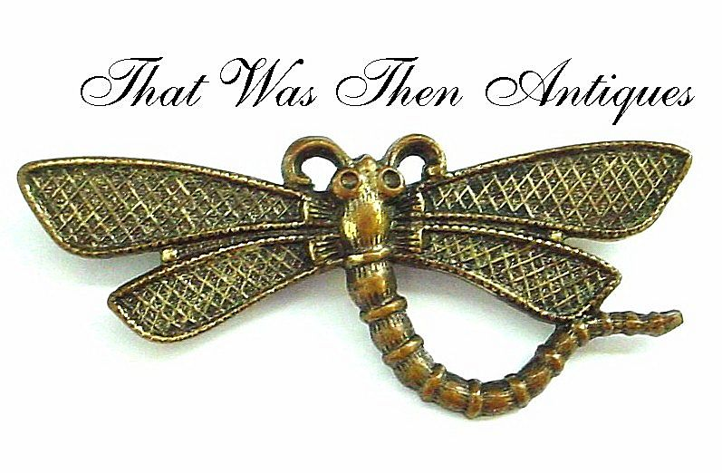 Dragonfly Pin - Brass