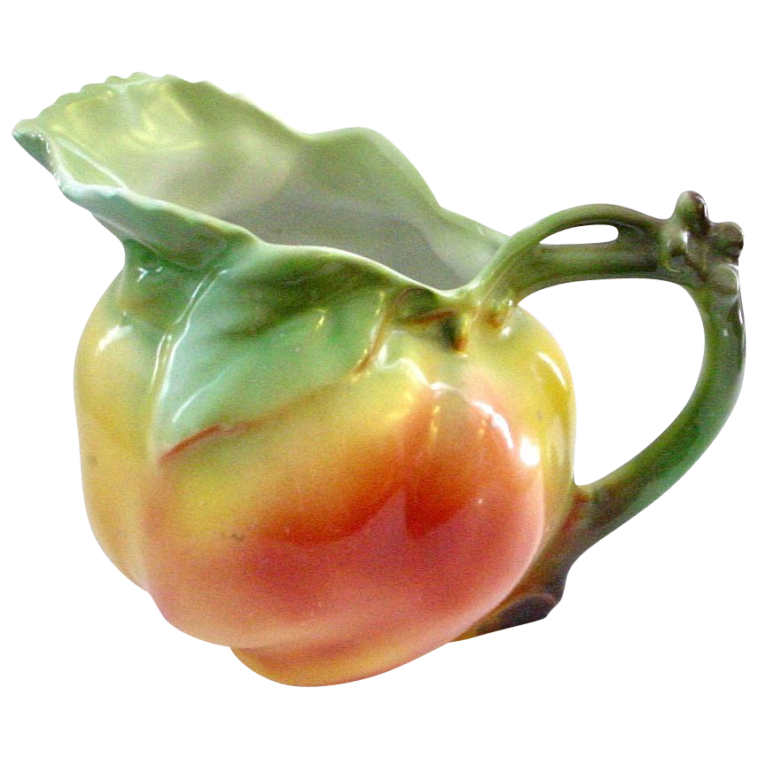 Royal Bayreuth Figural Apple Pitcher or Creamer