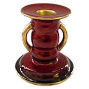 Carlton Ware Rouge Royale Candlestick
