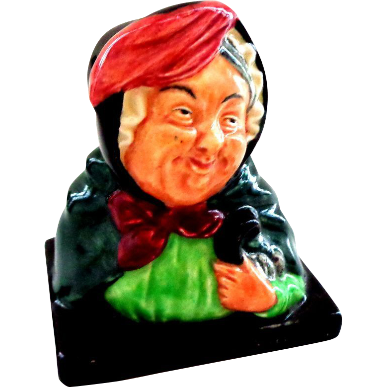 Royal Doulton Dickens Character Small Sairey Gamp Figure